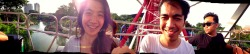 Panorama bianglalaaaaaa 😄 what a day banget hari ini *joosss* with Ega and Galih at Dunia Fantasi – View on Path.
