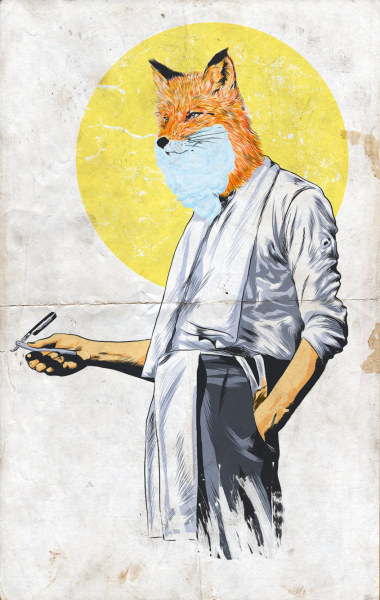 "Gentlefox  I'm happy to let you know that my submission ""Gentlefox"" has been approved by threadless' discerning panel of snobby judges and is now up for scoring on Threadless! Awesome! http://www.threadless.com/threadless/gentlefox/"
