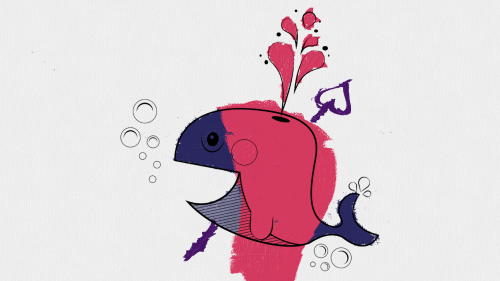 windows 8 has this drawing app thing and there's a cute whale template that you can color and i am sorry ((there's a heart cause it's a harpoon of ~love~))  OH MY GOD SOMEBODY ACTUALLY DID IT IM GONNA WEEP OPENLY LOOK AT THIS SILLY WHALE WITH ITS PINK HAIR OH IT'S SO PRECIOUS I'M SO HAPPY <3333333