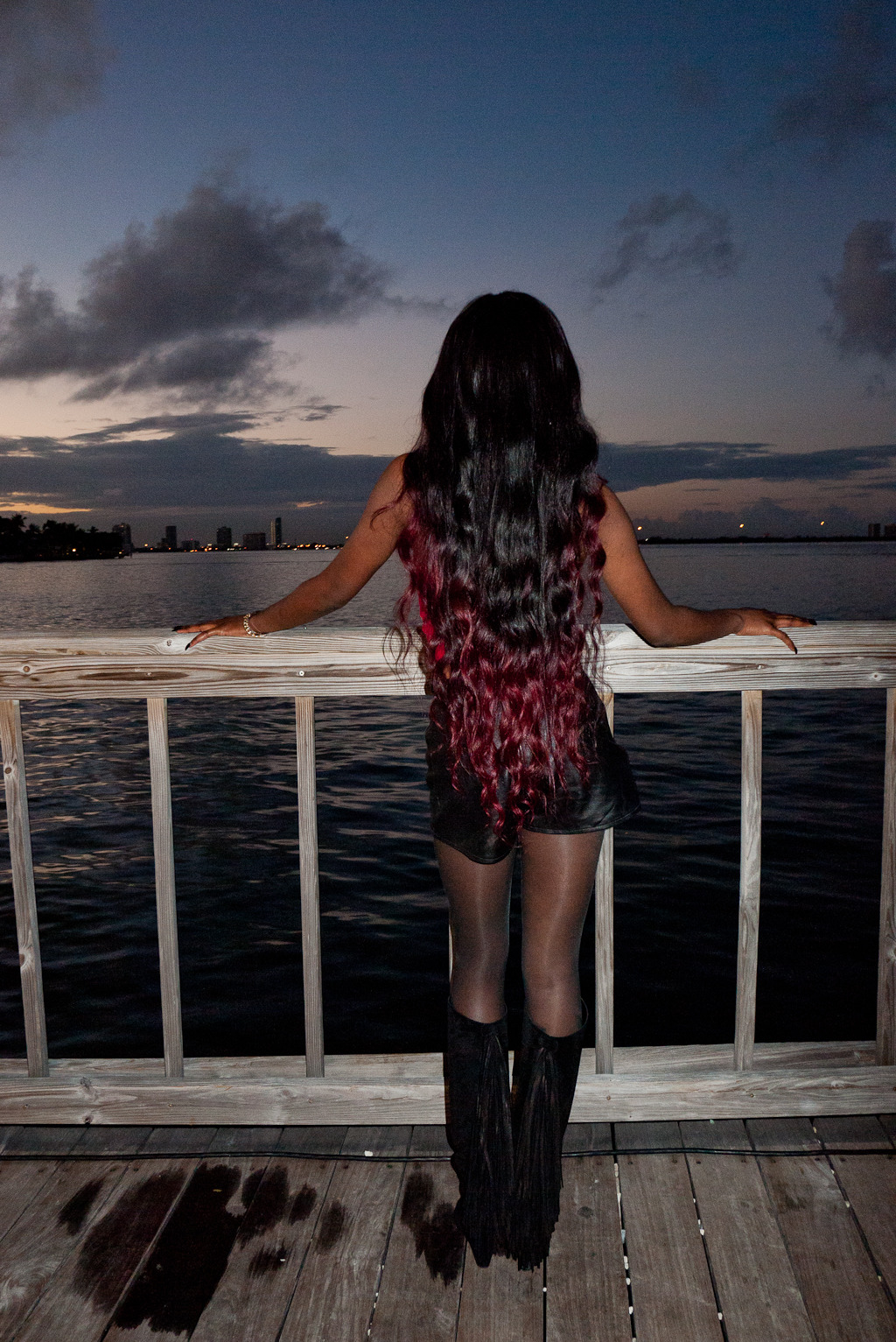 terrysdiary:  Azealia Banks in Miami #1