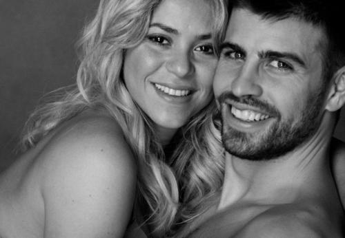 Gerard Pique is so hooot and so is Shakira