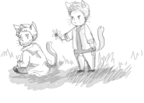 who-locked-the-impala:  BEFORE YOU SAY I AM DRAWING CAT LET ME EXPLAIN YOU A THINGGgim so lame