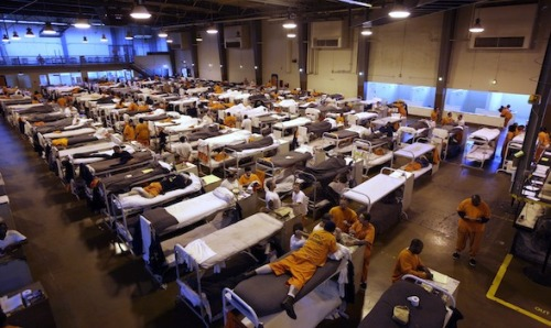 "thepeoplesrecord:  Human Rights Watch decries U.S. prison systemJanuary 31, 2013 Human Rights Watch Thursday published its annual World Report, in which it lays out a pointed critique of the U.S. prison system. The enormous prison population  — the largest in the world at 1.6 million — ""partly reflects harsh sentencing practices contrary to international law,"" notes the report. The 2013 World Report, a 665-page tome which assesses human rights progress in the past year in 90 countries, highlights particular issues undergirding the U.S.'s blighted carceral system. It notes that ""practices contrary to human rights principles, such as the death penalty, juvenile life-without-parole sentences, and solitary confinement are common and often marked by racial disparities."" Via HRW:  Research in 2012 found that the massive over-incarceration includes a growing number of elderly people whom prisons are ill-equipped to handle, and an estimated 93,000 youth under age 18 in adult jails and another 2,200 in adult prisons. Hundreds of children are subjected to solitary confinement. Racial and ethnic minorities remain disproportionately represented in the prison population.  HRW cite statistics often used to show racial disparities in the U.S. prison system. For example, while whites, African Americans and Latinos have comparable rates of drug use, African Americans are arrested for drug offenses, including possession, at three times the rate of white men. ""The United States has shown little interest in tackling abusive practices that have contributed to the country's huge prison population,"" said Maria McFarland, deputy U.S. program director at Human Rights Watch. ""Unfortunately, it is society's most vulnerable – racial and ethnic minorities, low-income people, immigrants, children, and the elderly – who are most likely to suffer from injustices in the criminal justice system."" Although noting some progress in 2012 (both D.C. and Connecticut joined the ranks of 16 states to have abolished the death penalty), HRW also stressed continuing injustices in U.S. immigration policies, labor issues and treatment of minorities, women, the disabled and HIV positive individuals. The report was particularly critical when reviewing the U.S.'s counterterrorism policies. The NGO noted in a statement:   Both the Obama administration and Congress supported abusive counterterrorism laws and policies, including detention without charge at Guantanamo Bay, restrictions on the transfer of detainees held there, and prosecutions in a fundamentally flawed military commission system.  Attacks by US aerial drones were carried out in Pakistan, Somalia, Yemen, and elsewhere, with important legal questions about the attacks remaining unanswered. The administration has taken no steps toward accountability for torture and other abuses committed by US officials in the so-called ""war on terror,"" and a Justice Department criminal investigation into detainee abuse concluded without recommending any charges. The Senate Select Committee on Intelligence completed a more than 6,000-page report detailing the CIA's rendition, detention, and interrogation program, but has yet to seek the report's declassification so it can be released to the public.  The World Report explicitly mentions Obama's signing of the NDAA in 2011 (an act he repeated this year), noting, ""The act codified the existing executive practice of detaining terrorism suspects indefinitely without charge, and required that certain terrorism suspects be initially detained by the military if captured inside the U.S.."" Next week, the lawsuit against Obama over the NDAA's definite detention provision will be back in federal court as plaintiffs including Chris Hedges, Daniel Ellsberg and Noam Chomsky seek an injunction prohibiting indefinite detention of civilians without charge or trial. Comments from HRW's McFarland point out what's at stake for the president here: ""The Obama administration has a chance in its second term to develop with Congress a real plan for closing Guantanamo and definitively ending abusive counterterrorism practices,"" McFarland said. ""A failure to do so puts Obama at risk of going down in history as the president who made indefinite detention without trial a permanent part of U.S. law."" Source The largest prison system in the world comes as a result of the continuing criminalization of Black & Brown youth, a failed war on drugs & poverty. This is how the New Jim Crow has manifested itself in communities of color all over the ""land of the free"": 1.6 million prisoners & counting.   This is inspiring me to talk to my grandfather seriously about learning law. The vulnerable and underrepresented groups in our society are being taken advantage of, and it's costly to fight back. Somebody's gotta get in there and help, for below market rates."