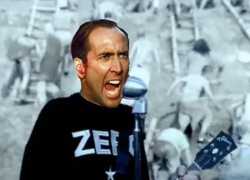 Despite all my rage, I am still just Nicolas Cage!