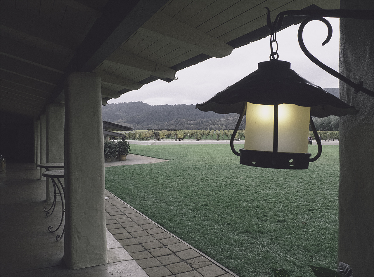 lonely lantern (robert mondavi winery)