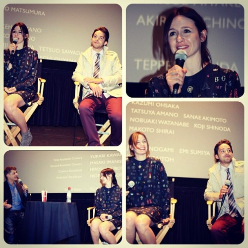 #EmilyMortimer at #CinemasPalmeDor in #PalmDesert last Saturday night. #janmilligan #stevemason #leonie #film #indiefilm #california #mmi #montereymedia