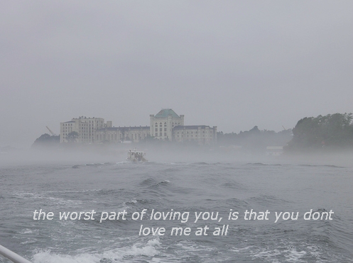 pale-leather:  the worst part of loving you, is that you don't love me at all.