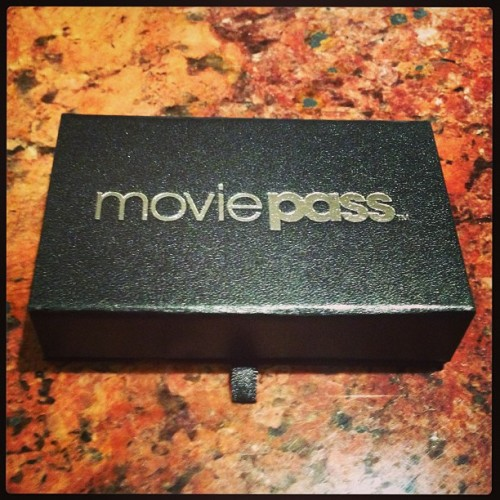 YES! Just got my MoviePass card in the mail. Unlimited movies in practically every theater nationwide for a whole year! Shout outs to the homie @maikuirock for hooking it up with an invite! Freakin STOKED!!!