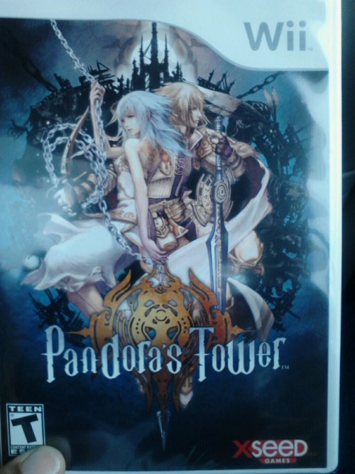 Finally got my copy of pandora's tower!! My trio os completed! XD
