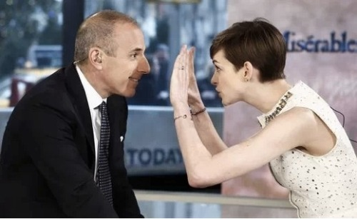 Either Matt Lauer isn't as bad as the rumors state he is, or Matt is just trying to make amends. But, it's currently being reported that Lauer is pushing NBC to allow Ann Curry to be released to take a major job with CNN.