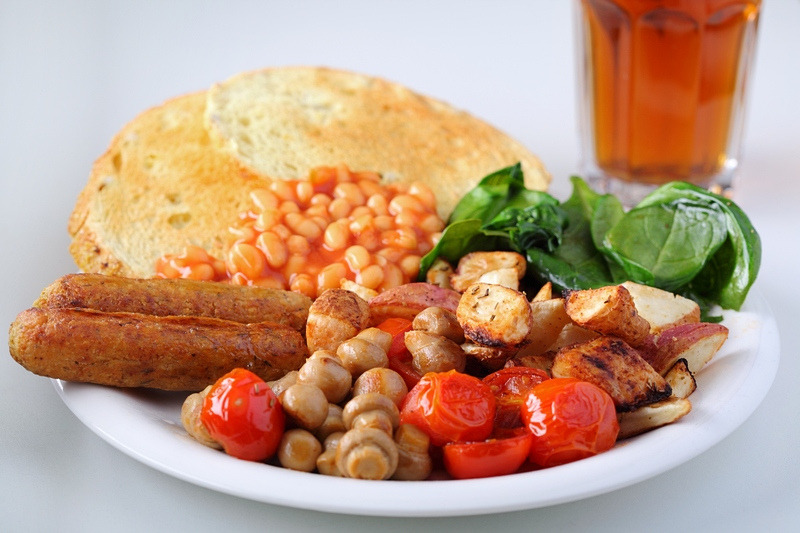Vegan Full English