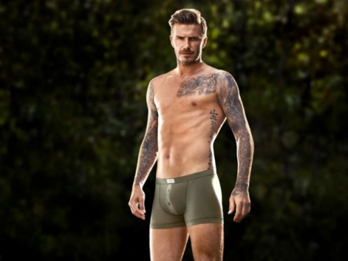 Oh David Beckham, we are ever so fond of you. Especially in your underwear.