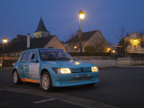 Pocket rally kit Starring: '87 Peugeot 205  (by Padicha)