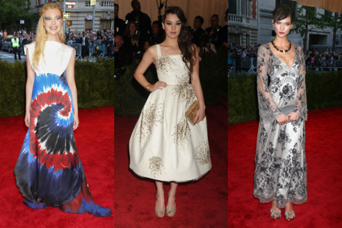 This year's Met Gala didn't disappoint. We loved Elle's tie-dye, Hailee's safety pins, and Karlie's gloth-glam look! See our entire list of the best dressed celebs »