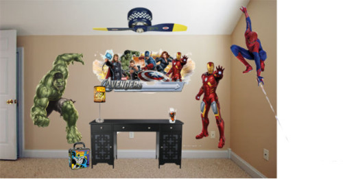 Superhero Room Decor by retroplanet featuring tote bagsTote bag / Knot Executive Desk / Giant Hulk Decal | Wall Decals | RetroPlanet.com / Hulk Desk Lamp / Web Shooting Spider-Man Reusable Decal | Wall Decals | RetroPlanet.com / Marvel Avengers Wall Decal | Wall Decals | RetroPlanet.com / Giant Iron Man Wall Decal | Wall Decals | RetroPlanet.com / Wolverine X-Men Toon Tumbler | Superhero Pint Glasses |…