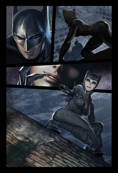 Batman and Catwoman page 2 by ~deanhsieh