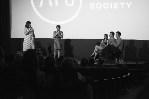 Summer Shorts and Stories at the Marchesa August 15, 2014 With the Austin Film Society, The Grownup Lady Story Company, Karen Skloss, Zack Carlson, and Ben Steinbauer