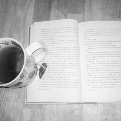 My get away  #tea #favorite book