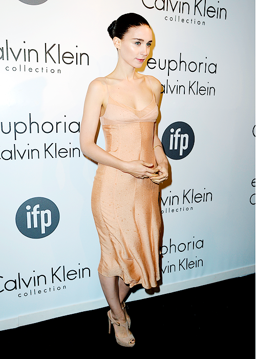 Rooney attends the IFP & Calvin Klein celebrate women in Film during the 66th Cannes Film Festival.
