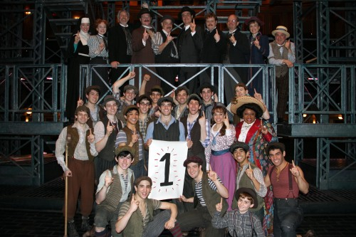 Today we OFFICIALLY celebrate one year on Broadway! We share this day with all of you!