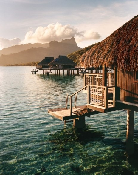 Hilton Moorea Lagoon Resort and Spa, on French Polynesia's Moorea.