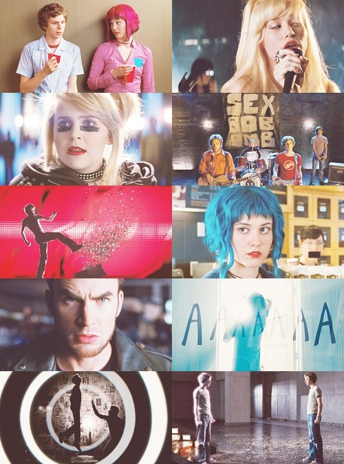 "nickmillerturtleface:  Scott Pilgrim vs. the World   ""Prepare to die, obviously!"""