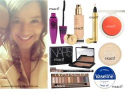 vale2299:   Untitled #1614 by ieleanorcalderstyle featuring maybelline ❤ liked on Polyvore NARS Cosmetics , $40 / Topshop  makeup / Urban Decay  eyeshadow, $55 / Yves Saint Laurent  foundation / Rimmel , $6.14 / Maybelline , $23 / Rimmel  cosmetic, $10.00 / Vaseline Lip Therapy, $3.06 / Yves Saint Laurent Touche Éclat Radiant Touch