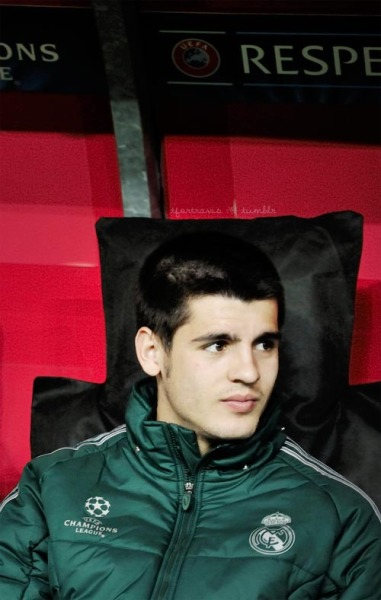 moratacentral:  Alvaro Morata during match against Galatasaray. (via tfortravis)