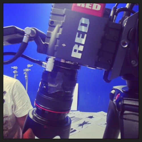 Work #cbsd #red #redcamera (at CBS Television City Studios)