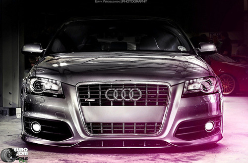 lateststancenews:   Damn Bagged Audi ! by Eryk Wroblewski Stance Inspiration - Get inspired.graphy on...