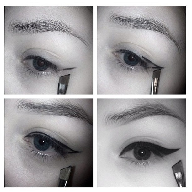 Eyeliner tutorial by @bethmakeupart ❤ #eyeliner #tutorial