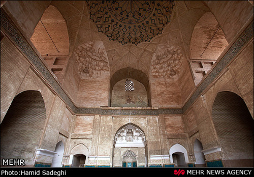 Malek Mosque, Kerman, Iran