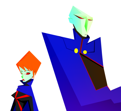 polygonalmess:  Martians!!!! i hate it that cartoon network cancel young justice i loved it……well i did a farewell piece honoring the always amazing duo…..miss martian and martian manhunter