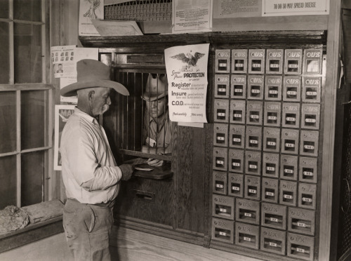 The post office and general store in Castolon, Texas.Photograph by Luis Marden, National Geographic  natgeofound
