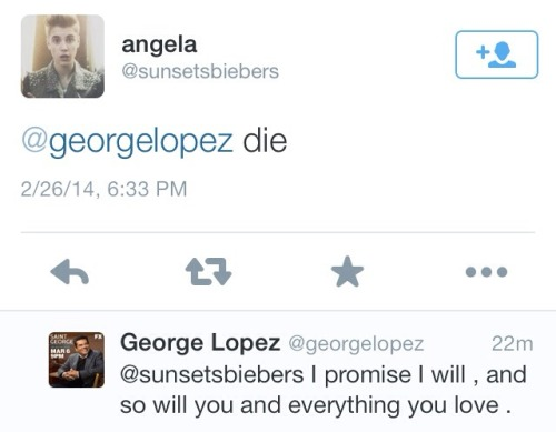 norcalchicana:  George Lopez doesn't give two fucks about you.