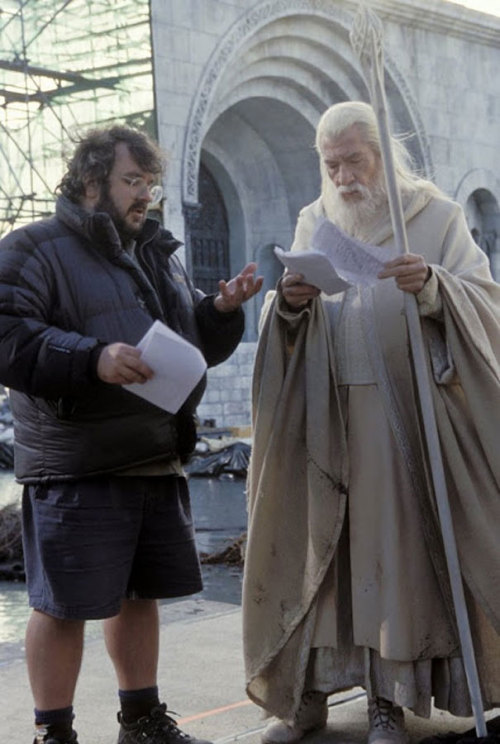 pinkxof:  Behind the scenes of LOTR