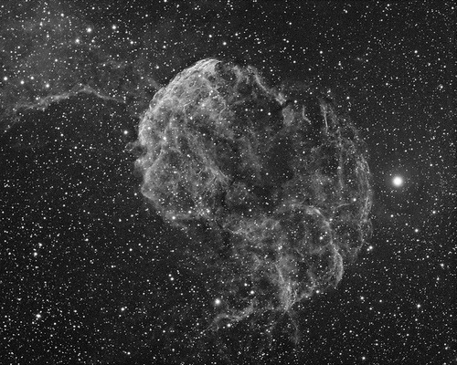 IC443 (the Jellyfish nebula) in Ha by swag72 on Flickr.