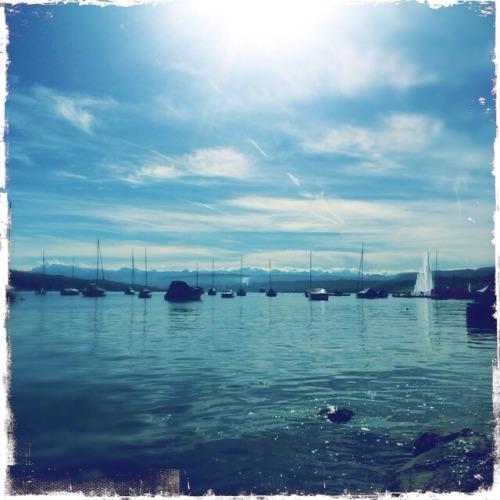 Zürich, lake, relax. My daily plan.