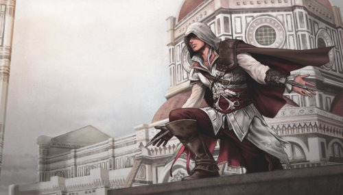 aquilafeathers:  assassins creed 2 by ~aenaluck