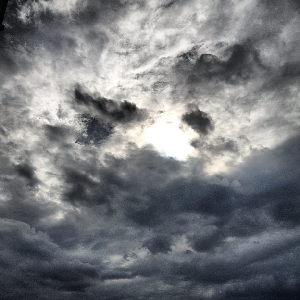 After the storm #clouds #cloudporn #sky #sun #dark #apocalypse #skyporn #nyc #rain #storm #manhattan