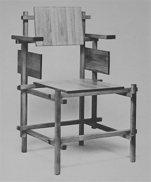 b22-design:    Rietveld chair - 1919