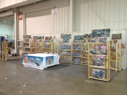 Sluban at the toy and hobby fair in Toronto :)