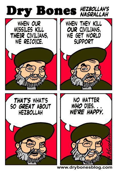 freeisrael:  The attitude of Hizbollah