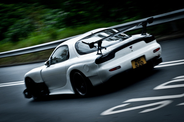 Mazda RX-7 RE Amemiya Super-G by Rupert Procter on Flickr.
