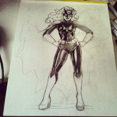 More progress on batwoman!