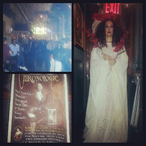 Chronologie at Lillie's… #nyc #Lillies #nightlife #work