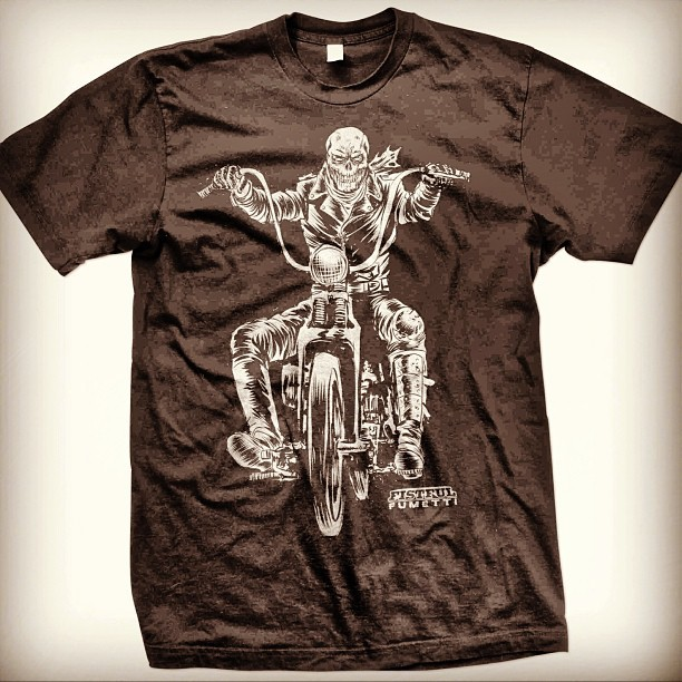 Doomrider tee mock up.