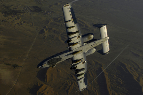 A-10 Belly Up, Off Tanker