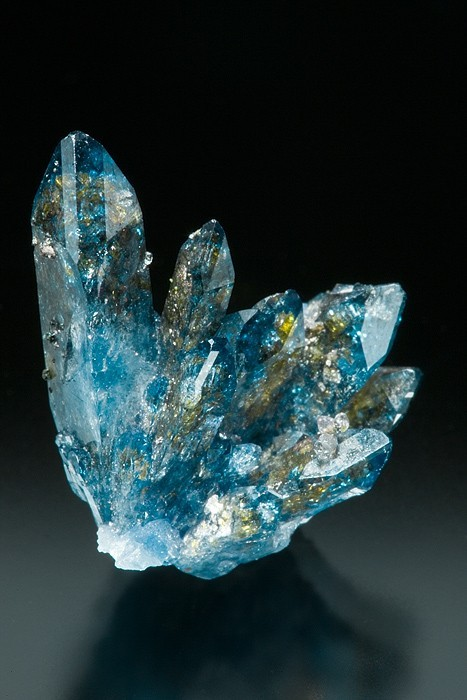 mtnair:  mineralists:  Scorodite from Tsumeb Mine, Namibia  a physical representation of my happiness