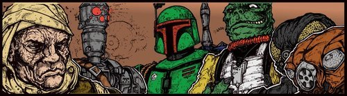 Greatest Galactic Bounty Hunters!!!